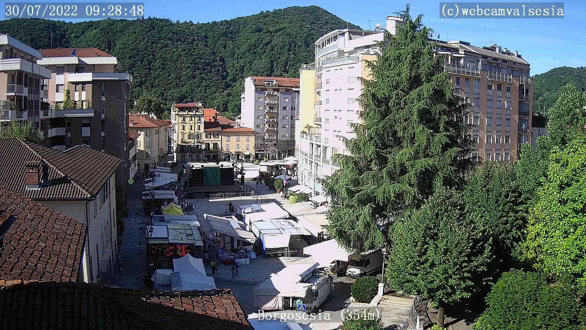 webcam valsesia Borgosesia